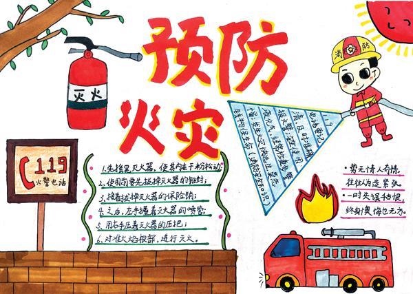 火灾无情防为上 安全常识记心间图片
